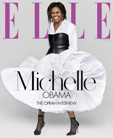 ELLE Cover - 12/1/2018