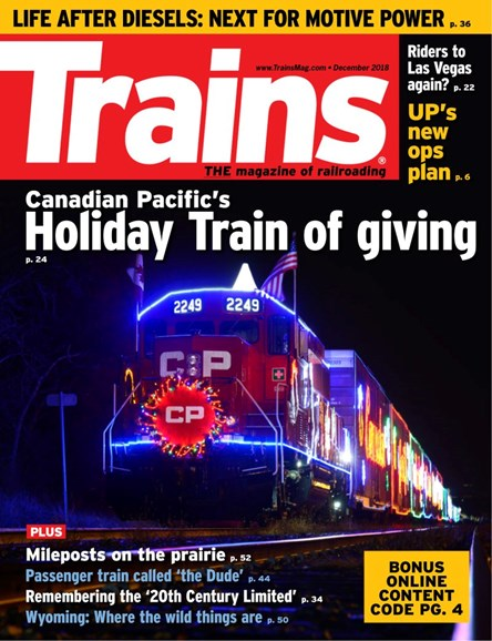 Trains Cover - 12/1/2018