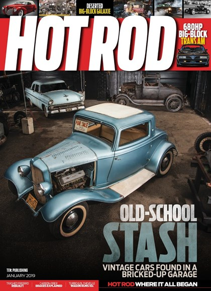 Hot Rod Cover - 1/1/2019