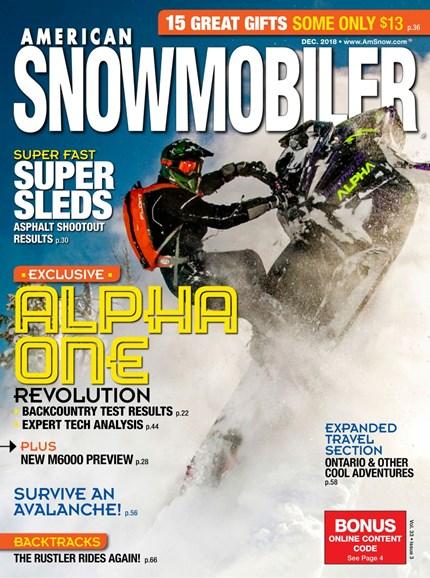 American Snowmobiler Cover - 12/1/2018