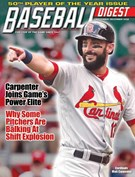 Baseball Digest Magazine 11/1/2018