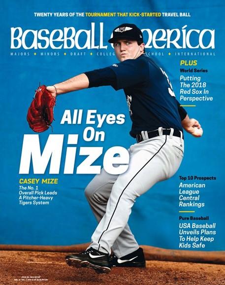 Baseball America Cover - 11/16/2018