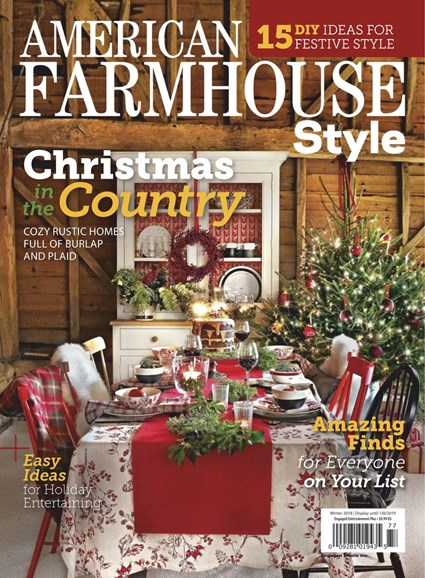 American Farmhouse Style Cover - 12/1/2018