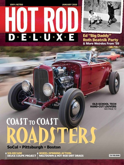 Hot Rod Deluxe Cover - 1/1/2019