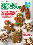 Simple & Delicious Magazine | 12/1/2018 Cover