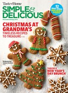 Simple & Delicious Magazine 12/1/2018