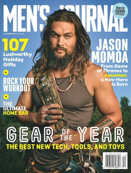 Men's Journal Cover - 12/1/2018