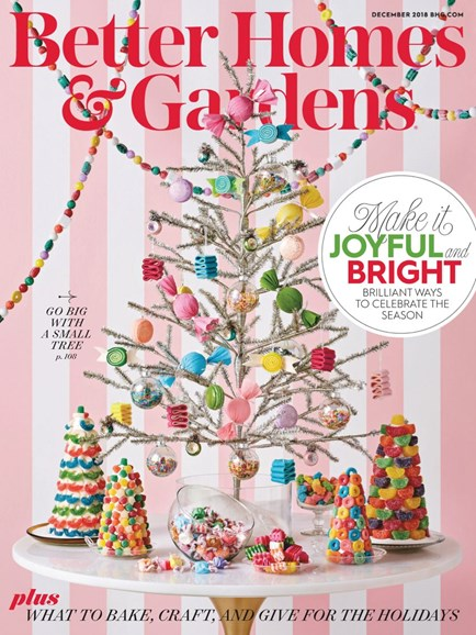 Better Homes & Gardens Cover - 12/1/2018