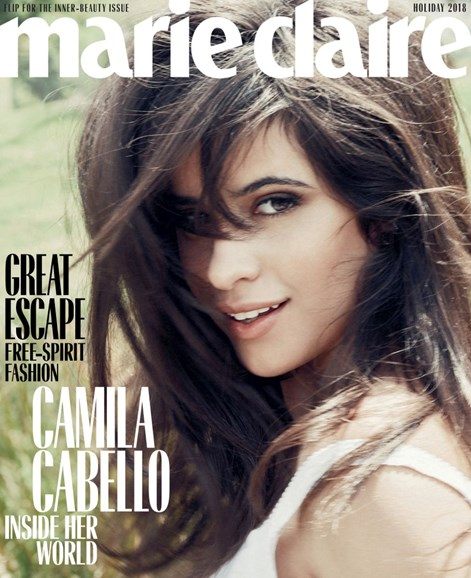 Marie Claire Cover - 12/1/2018