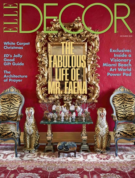 ELLE DECOR Cover - 12/1/2018