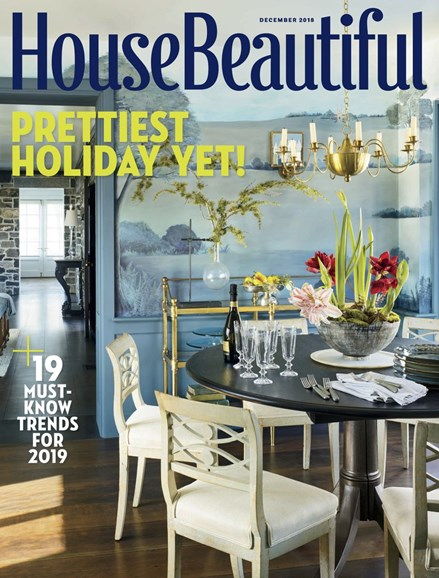 House Beautiful Cover - 12/1/2018