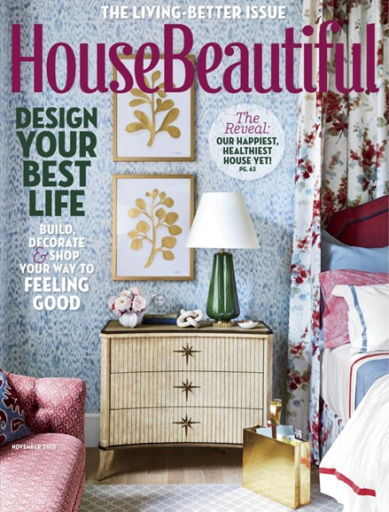 House Beautiful Cover - 11/1/2018