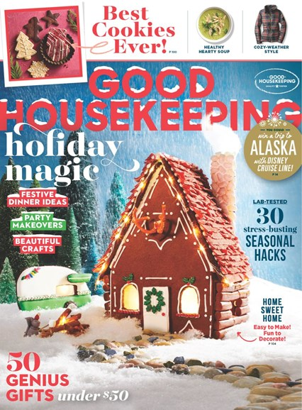 Good Housekeeping Cover - 12/1/2018