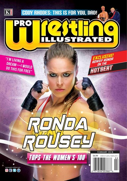 Pro Wrestling Illustrated Cover - 2/1/2019