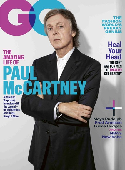 Gentlemen's Quarterly - GQ Cover - 10/1/2018