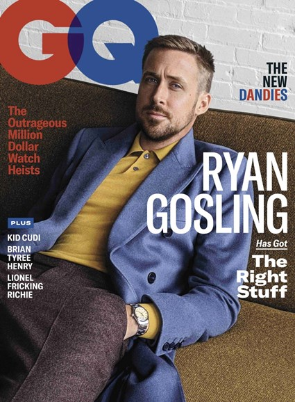 Gentlemen's Quarterly - GQ Cover - 11/1/2018