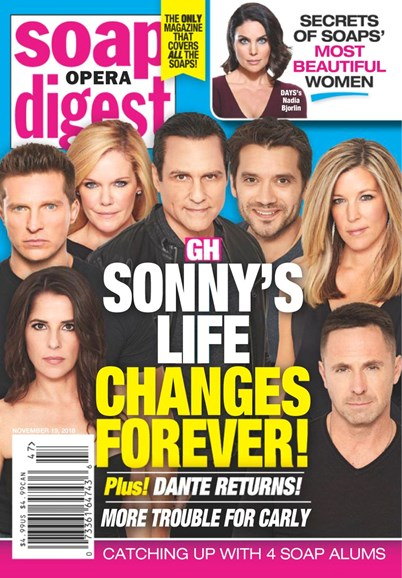 Soap Opera Digest Cover - 11/19/2018