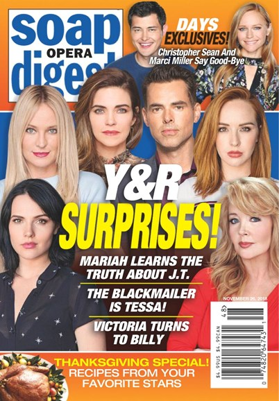 Soap Opera Digest Cover - 11/26/2018