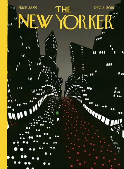 The New Yorker Cover - 12/3/2018