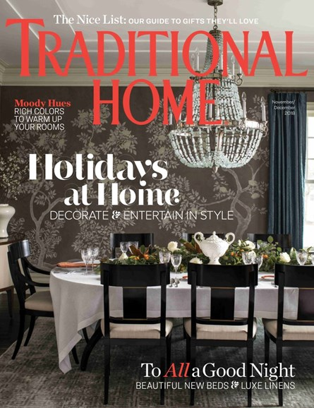 Traditional Home Cover - 11/1/2018