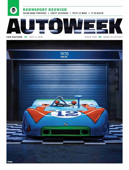 Autoweek Cover - 11/5/2018