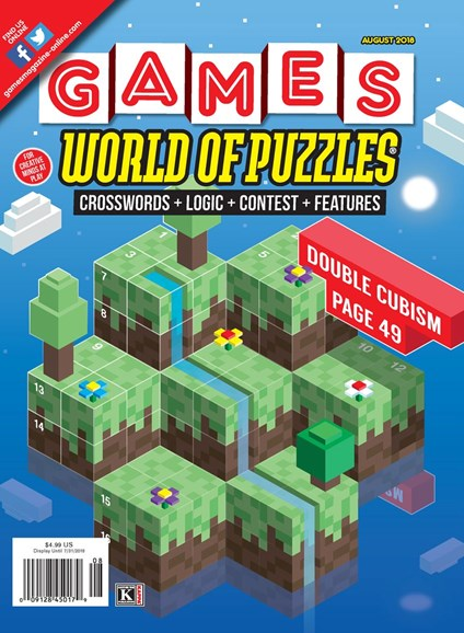 Games World of Puzzles Cover - 8/1/2018