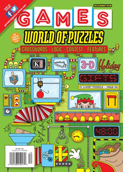 Games World of Puzzles Cover - 12/1/2018