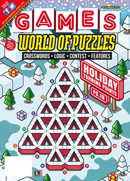 Games World of Puzzles Cover - 12/1/2017