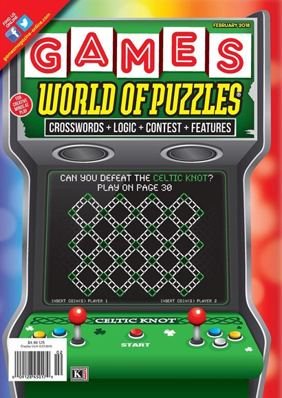 Games World of Puzzles Cover - 2/1/2018