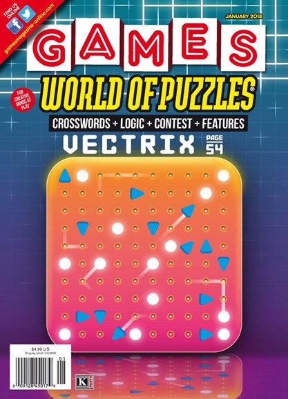 Games World of Puzzles Cover - 1/1/2018