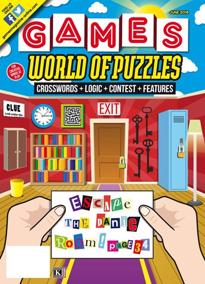 Games World of Puzzles Cover - 6/1/2018