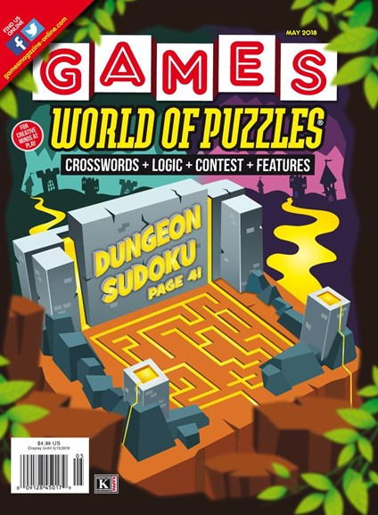 Games World of Puzzles Cover - 5/1/2018