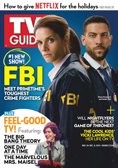 TV Guide Cover - 11/26/2018