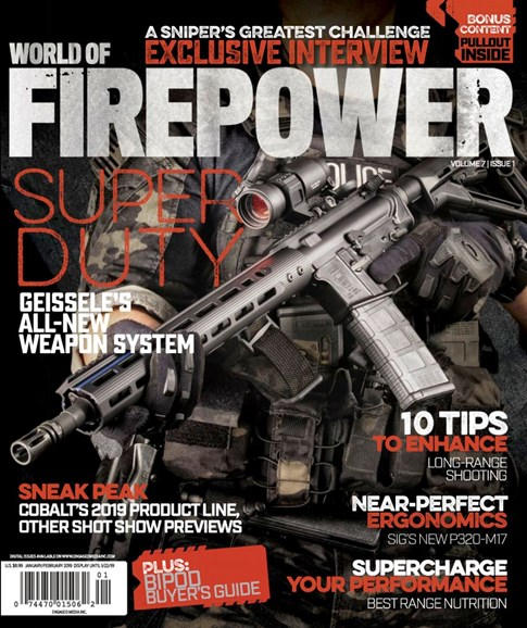 World of Firepower Cover - 1/1/2019