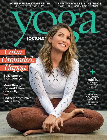 Yoga Journal Cover - 12/1/2018