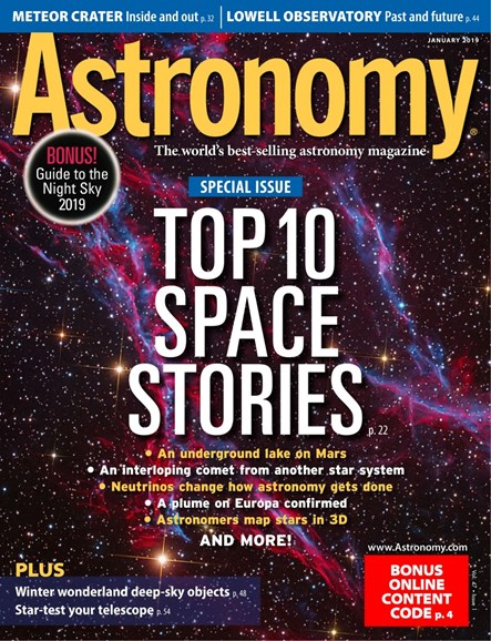Astronomy Cover - 1/1/2019