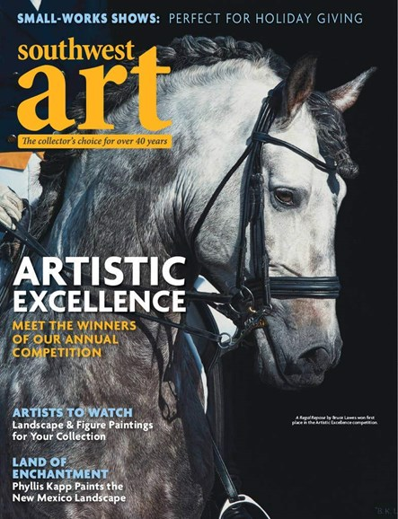 Southwest Art Cover - 12/1/2018