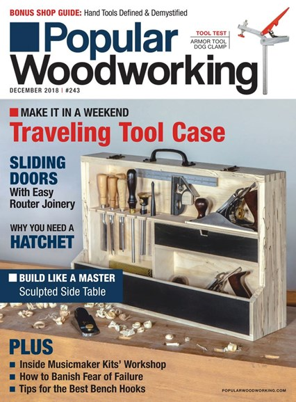 Popular Woodworking Cover - 12/1/2018