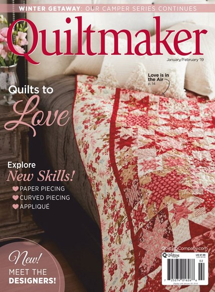 Quiltmaker Cover - 1/1/2019