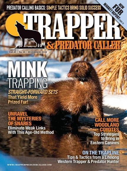 Trapper & Predator Caller Cover - 12/1/2018