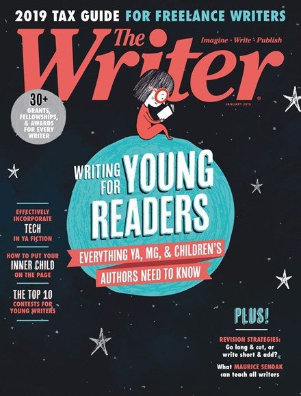 The Writer Cover - 1/1/2019