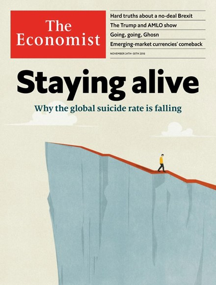 The Economist Cover - 11/24/2018