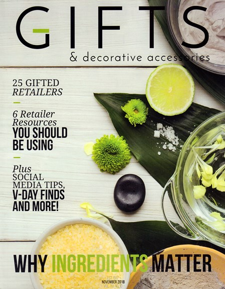 Gifts And Decorative Accessories Cover - 11/1/2018
