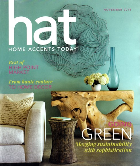 Home Accents Today Cover - 11/1/2018