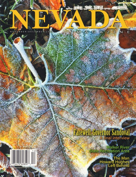 Nevada Magazine Cover - 11/1/2018
