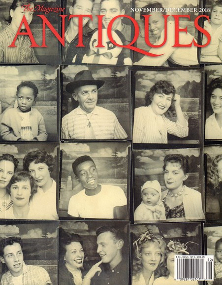 The Magazine Antiques Cover - 11/1/2018