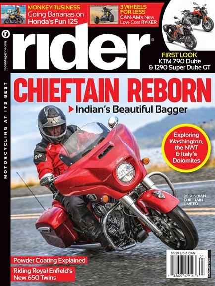 Rider Cover - 1/1/2019