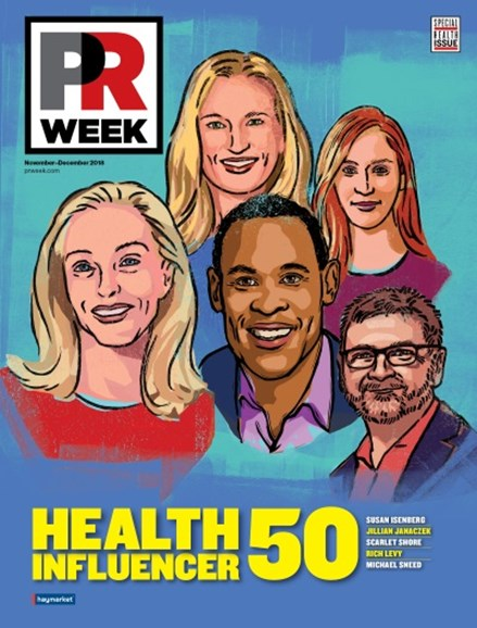 PRWeek Cover - 11/1/2018