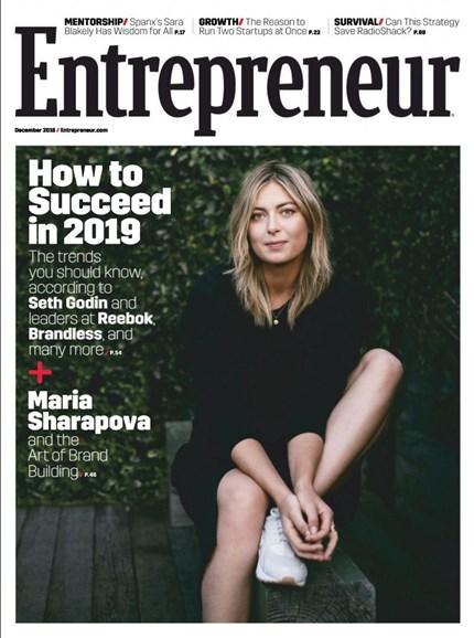 Entrepreneur Cover - 12/1/2018