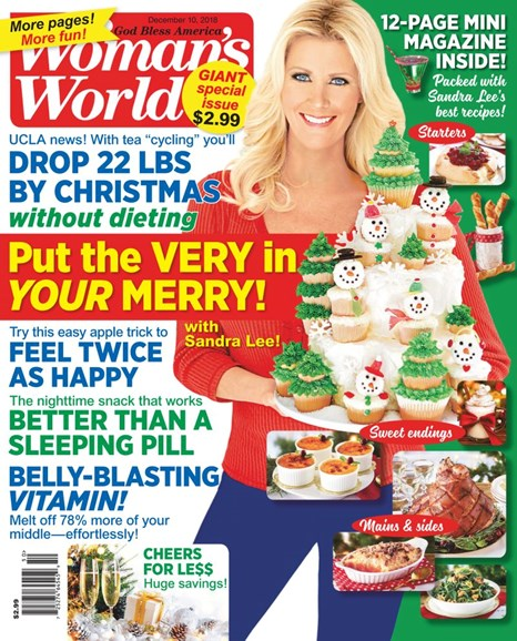 Woman's World Cover - 12/10/2018